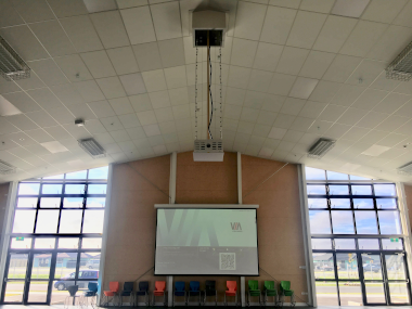 Education Technology. Multi-purpose halls, classroom display and voice lift solutions, PA, bells, scheduling